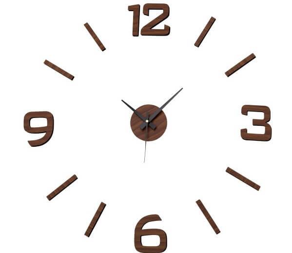 Reloj de pared de prolipropileno.