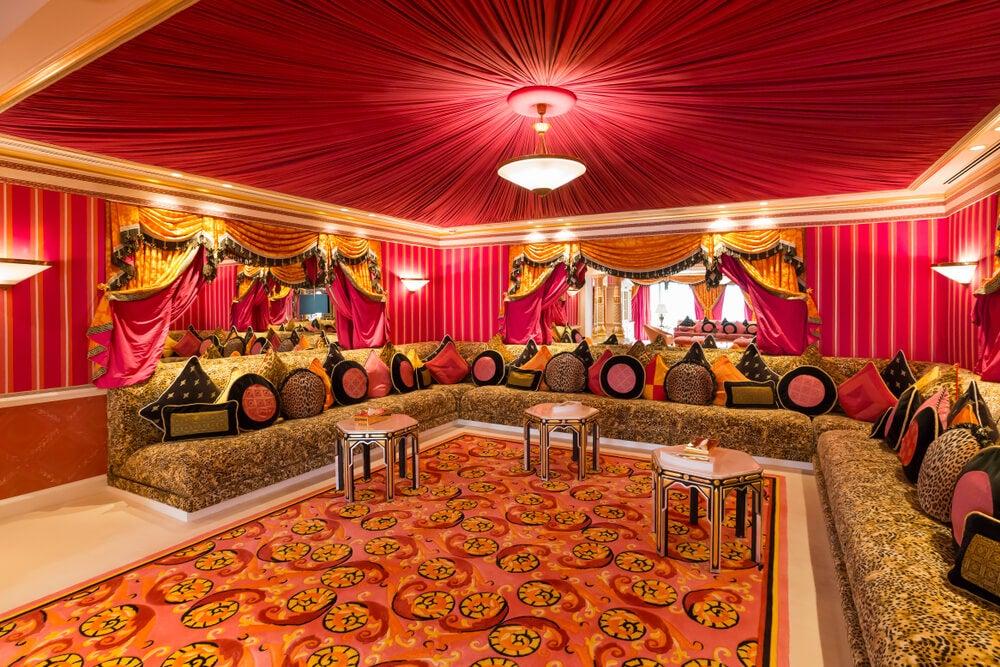Salón árabe.