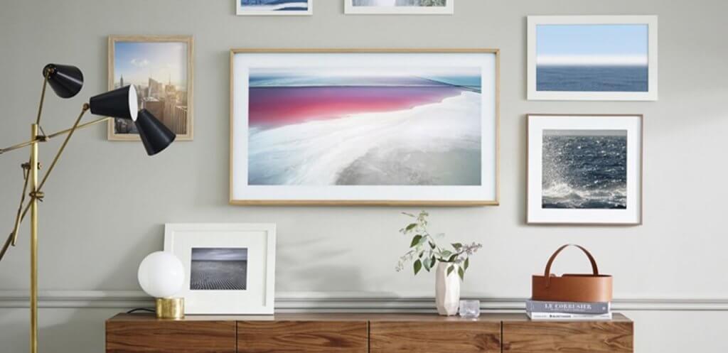 The Frame TV de Samsung.