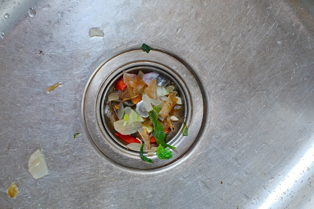 Food waste is one of the main causes of plumbing odors.