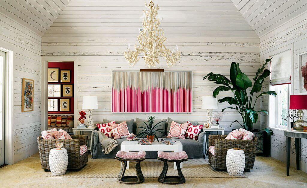 Diseño de interior con nombre propio: Alessandra Branca