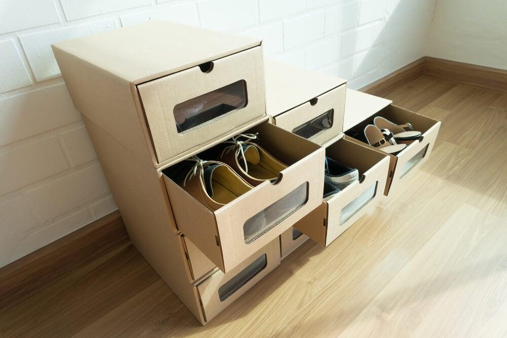 Cajas para zapatos.