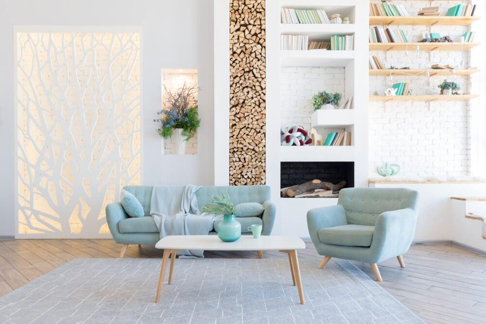 Trucos de color para cambiar el efecto visual de una habitación