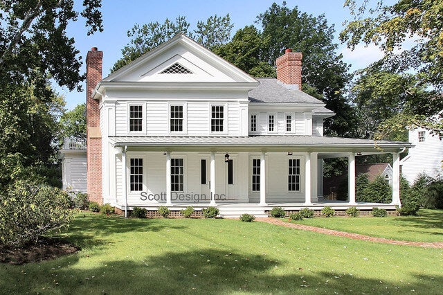 Casas greek revival.
