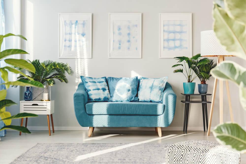 7 inspiradoras habitaciones en color turquesa