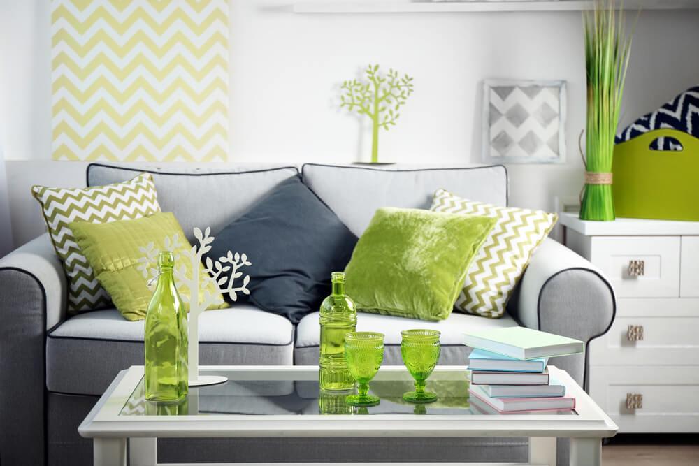 Fórmulas para aplicar el color verde en la decoración