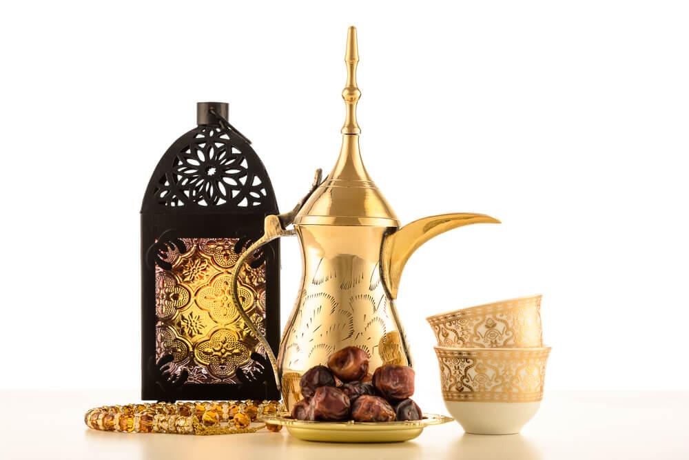 Conjunto de té marroquí.