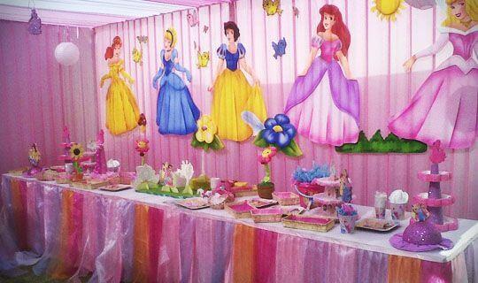 Cumpleaños de decoración Disney.