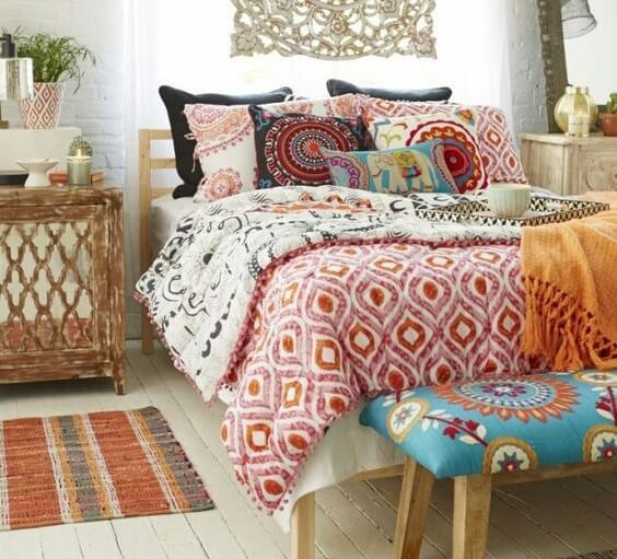 Colores marroquíes.