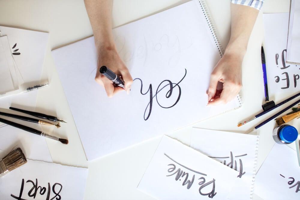 Decorar con lettering