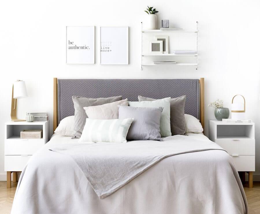 Dormitorio moderno.