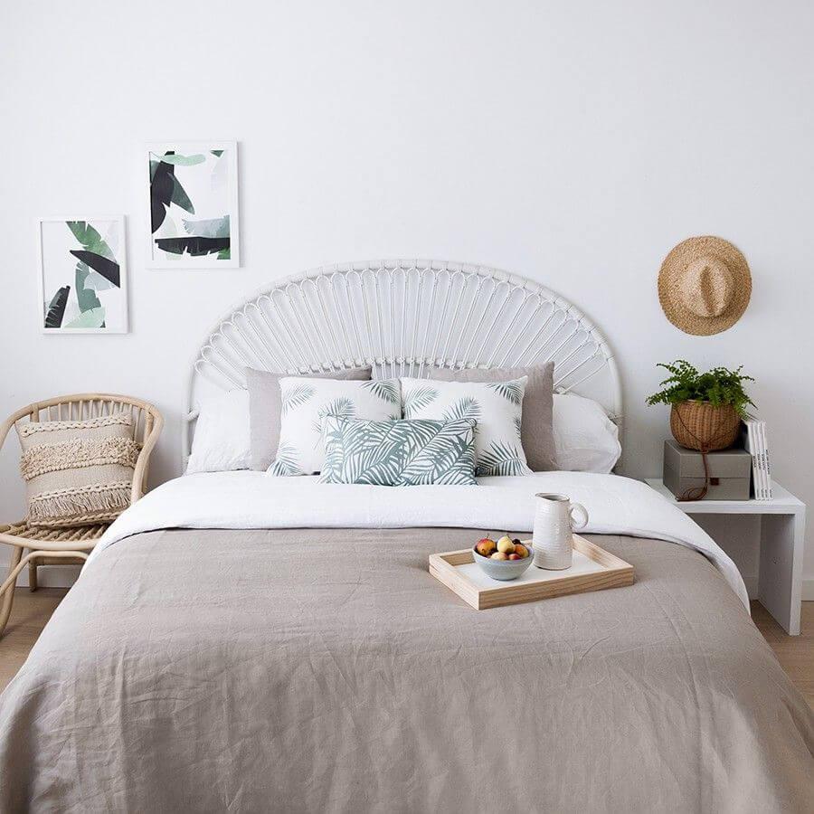 Dormitorio romántico.
