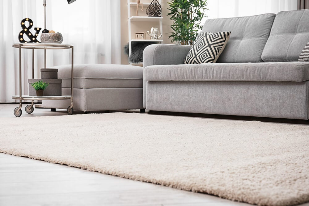 Elegir mejor la alfombra.