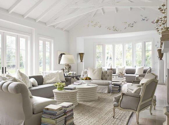 Interiorismo de estilo afrancesado