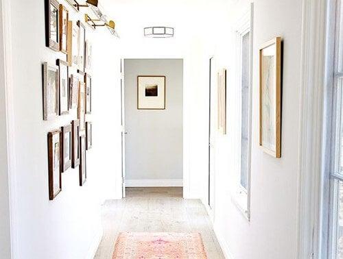 Cómo sacar partido a los pasillos estrechos