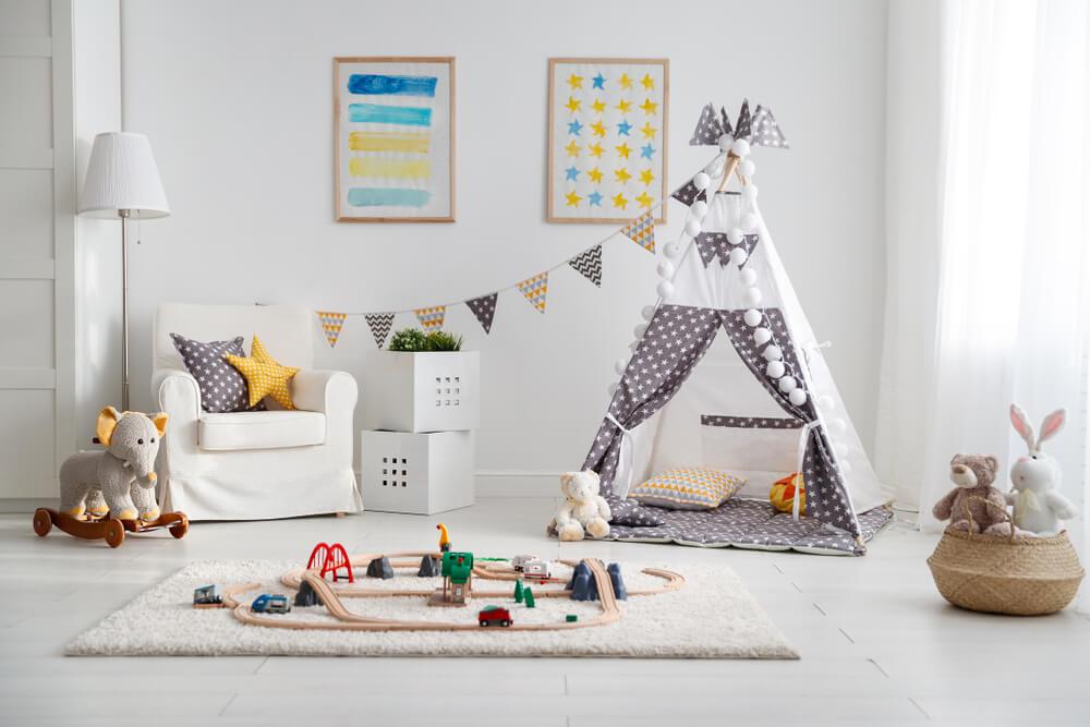 Ideas de sala de juegos para mantener a los niños ocupados