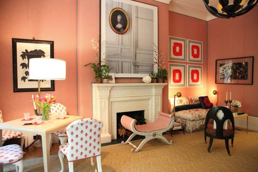 Classical living room.