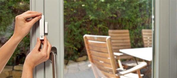 Sensores de ventanas y puertas.
