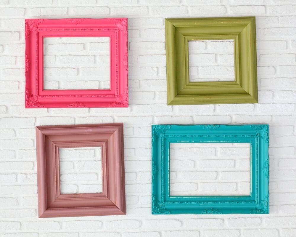 Tipologías de marcos para embellecer el hogar