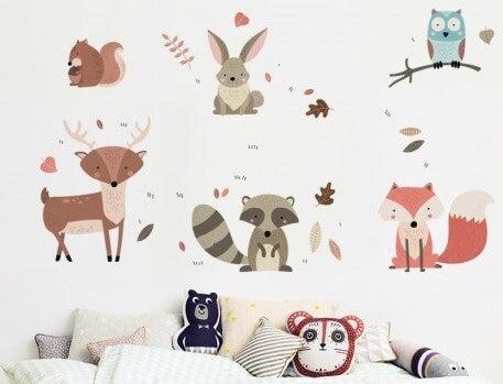 Animal designs.
