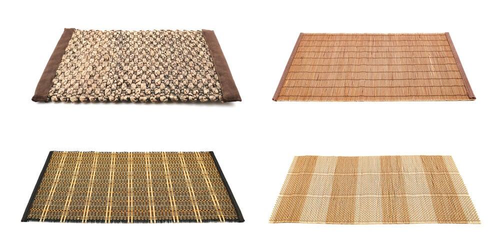 Combinar alfombras naturales.