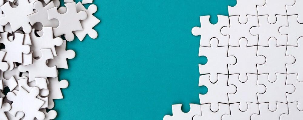Cuadro de un puzzle.