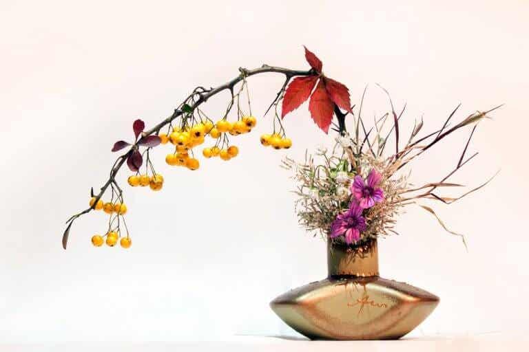 Ikebana. El arte floral japonés que te encantará