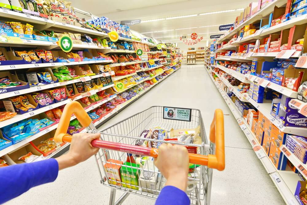 Decoración de supermercados.