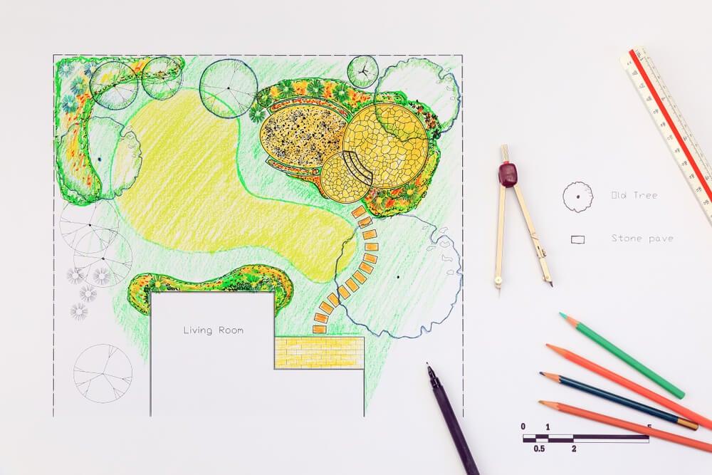 Ideas y conceptos sobre diseño de jardines
