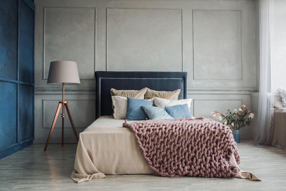 Diseño de un dormitorio para favorecer el descanso