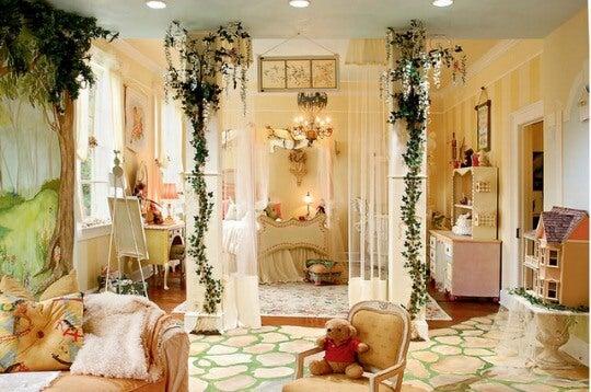 Dormitorio bosque.