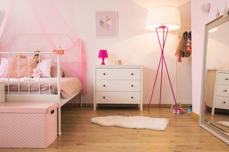 Dormitorios de niña: tan estilosos como divertidos