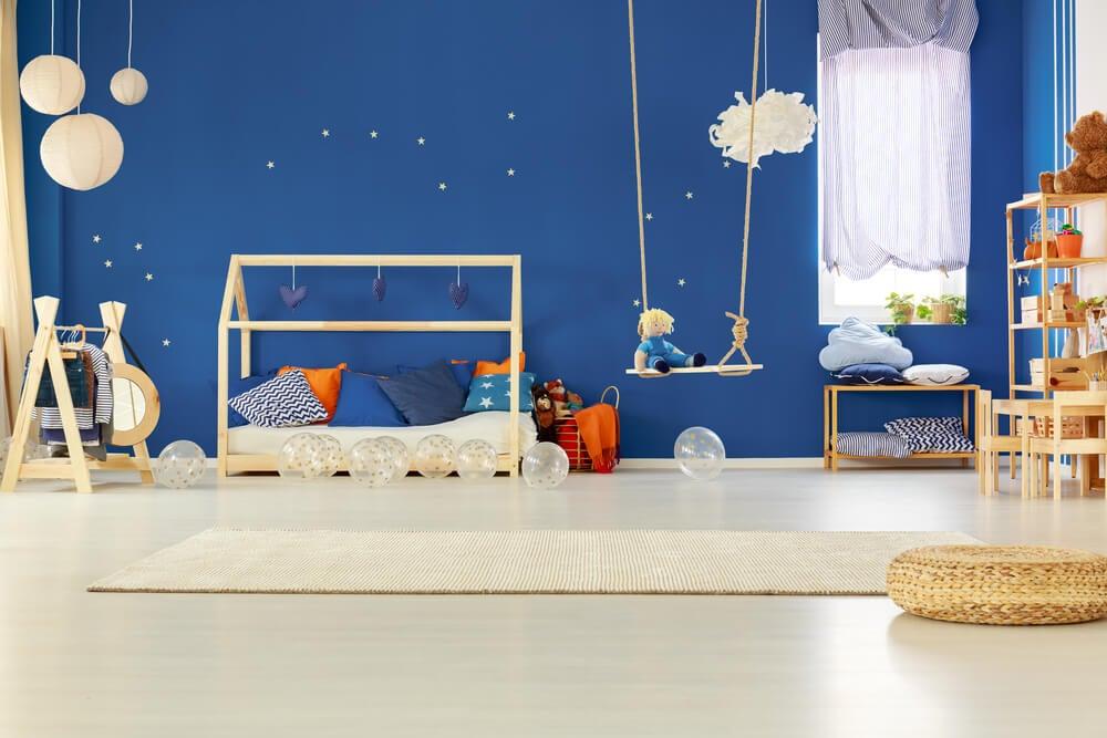 Dormitorios infantiles para fomentar la creatividad
