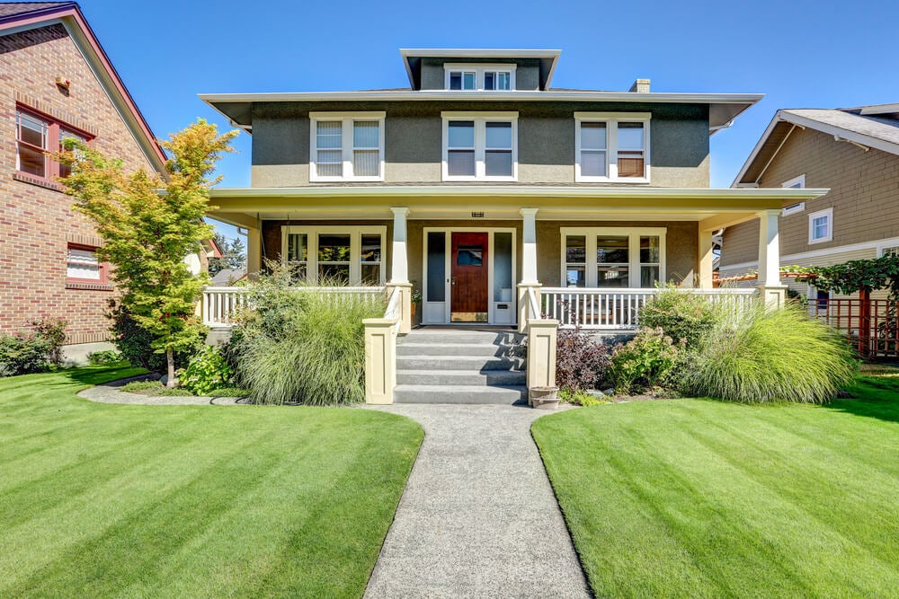 Preciosas casas de estilo craftsman