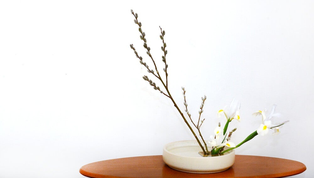 Ikebana hana simple.
