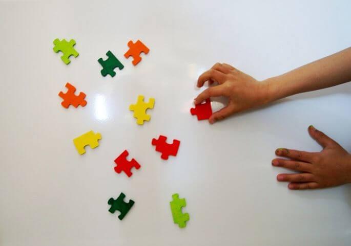 Imanes puzzle.