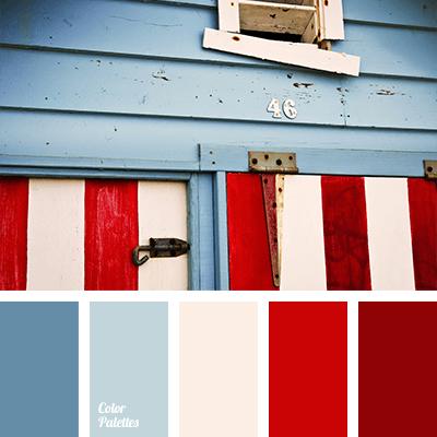 Paleta de colores marineros.