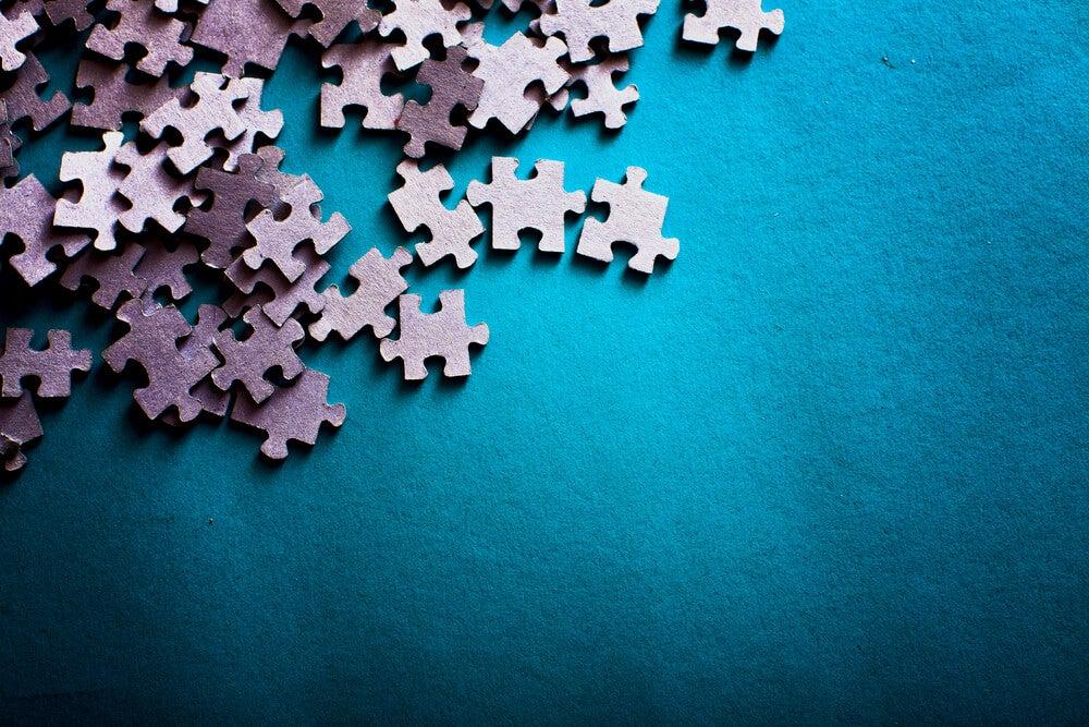 Piezas de puzzle.