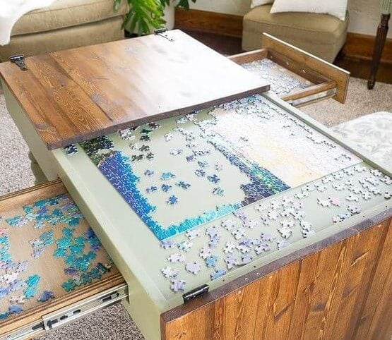Puzzle mesa.
