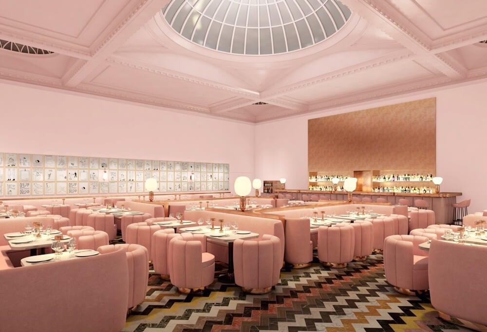 Restaurante The Gallery at sketch.