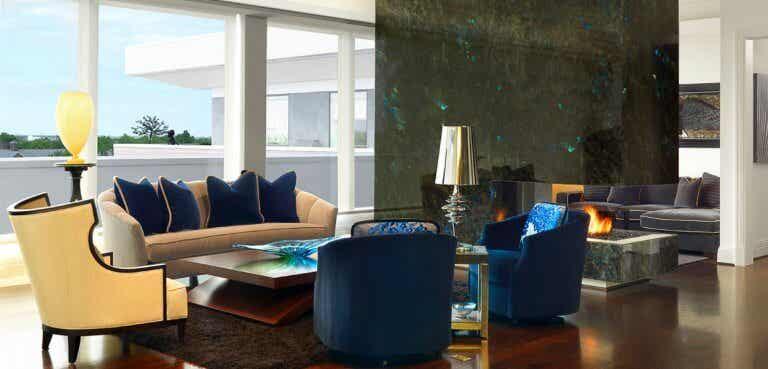 Diseño de interior con nombre propio: Edwin Pepper and Associates