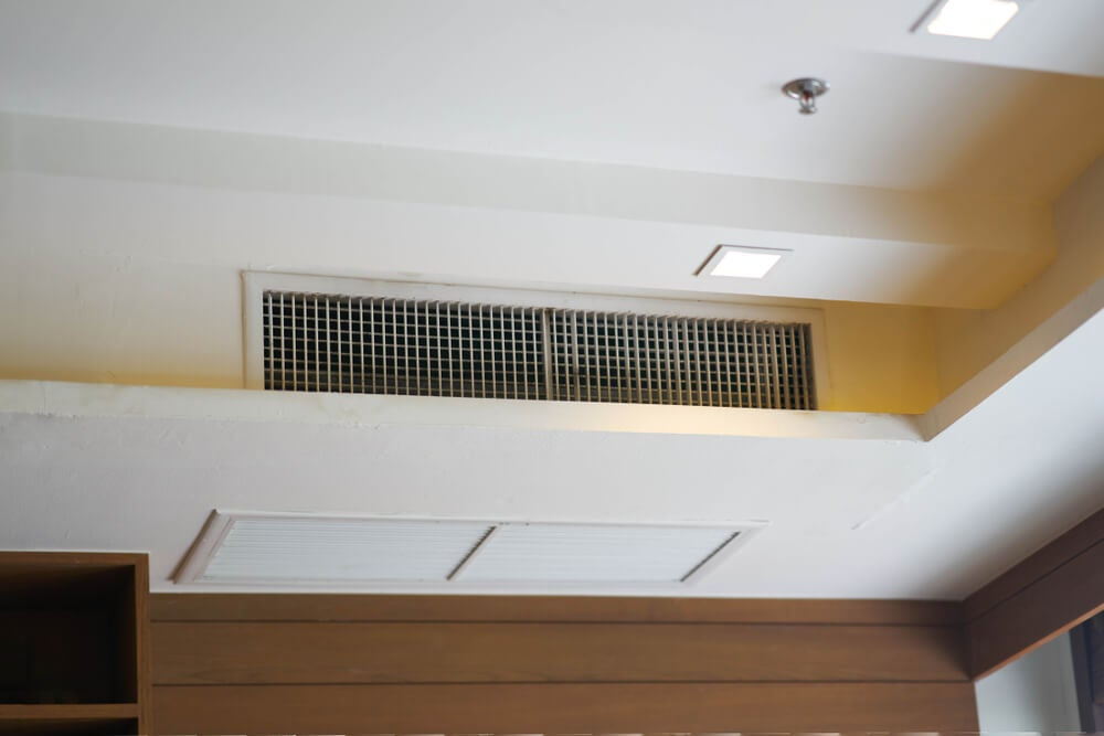Aire acondicionado interno.