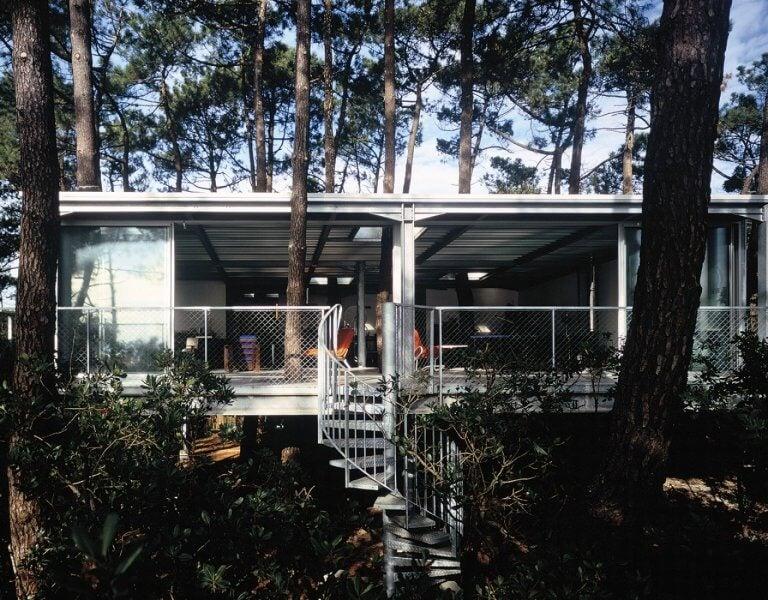 La casa Cap Ferret, naturaleza en el interior del hogar