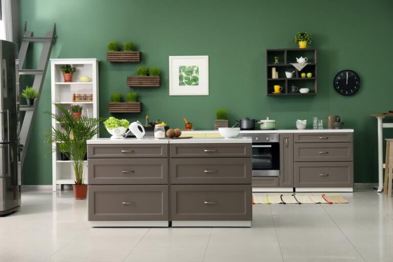 Dale un toque natural a tu casa con el verde musgo