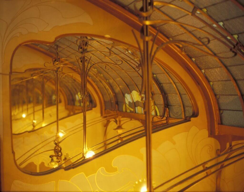 Resultado de imagen de victor horta casa tassel