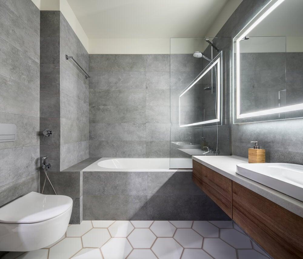 Bañera y ducha: dos en uno.
