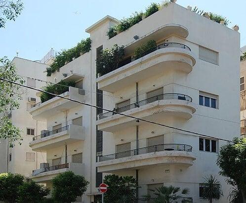 Edificio Bauhaus en Tel Aviv.