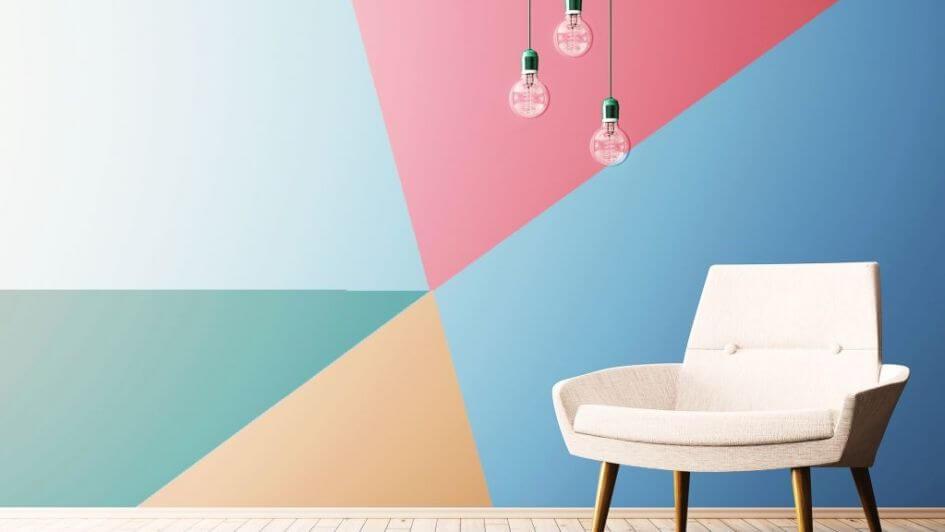 Geometría en las paredes.