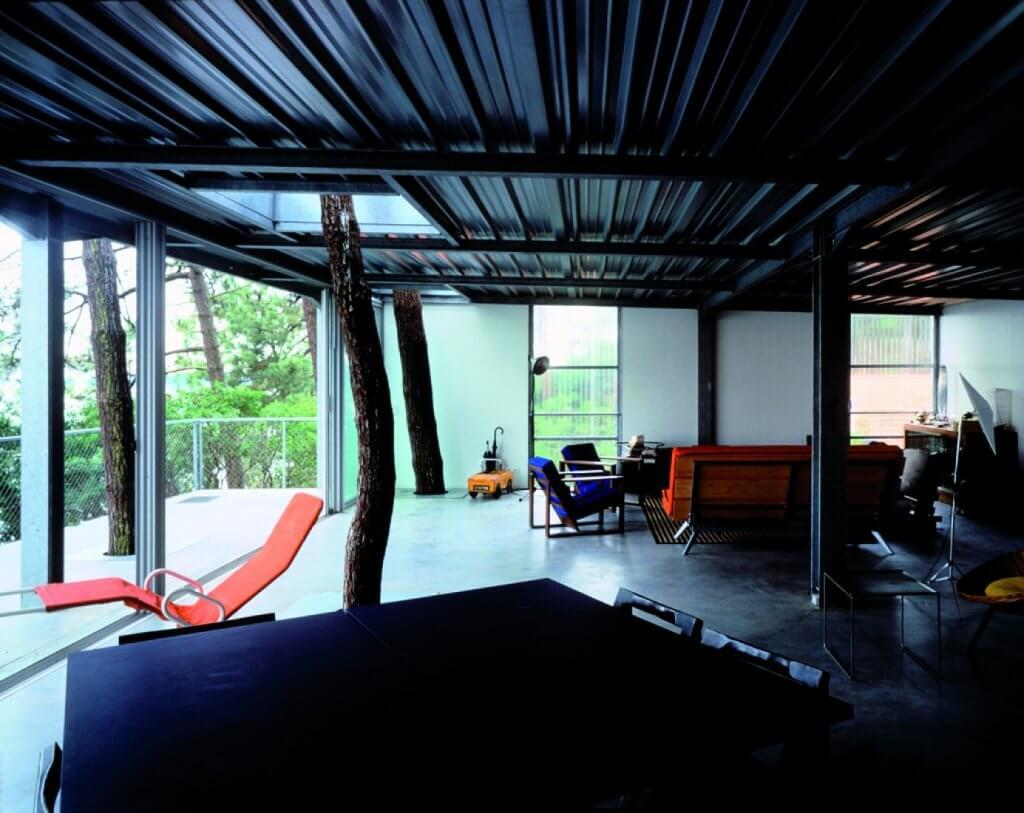 Interior de la Casa Cap Ferret,