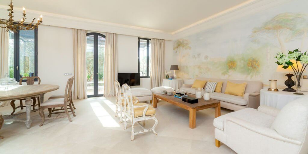 Interior diseñado por Diana Huete.
